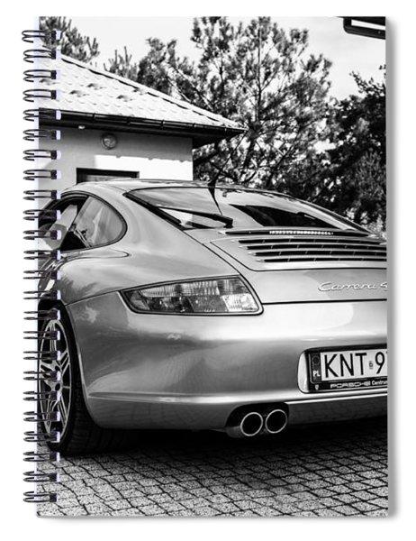 Porsche 911 Carrera 4s Spiral Notebook