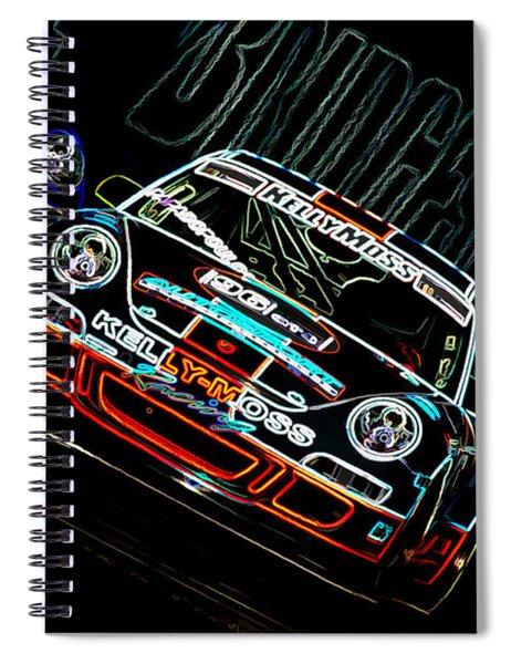 Porsche 911 Racing Spiral Notebook