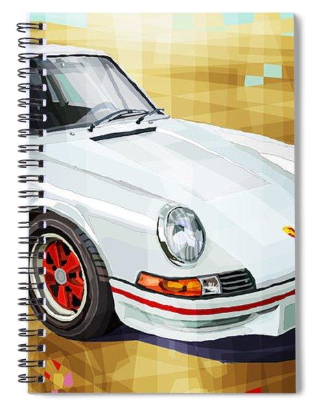 Porsche 911 Rs Spiral Notebook