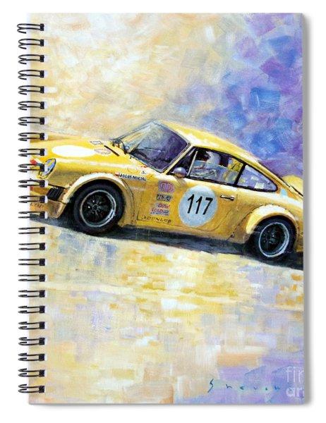 Porsche 911 S Typ G Josef Michl Spiral Notebook