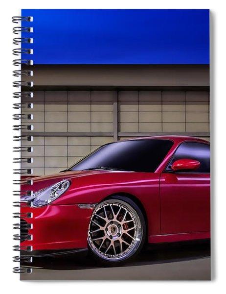 Porsche 911 Twin Turbo Spiral Notebook