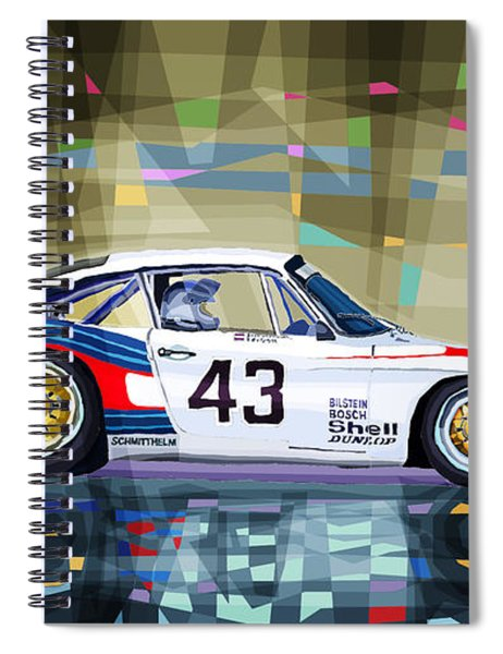 Porsche 935 Coupe Moby Dick Spiral Notebook