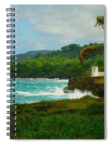 Port Antonio Spiral Notebook