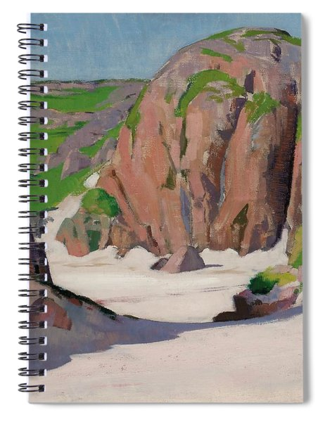 Port Bhan  Iona Spiral Notebook