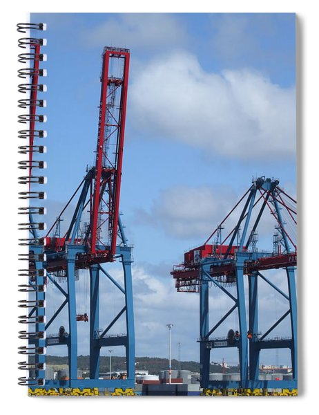 port of Gothenburg Spiral Notebook