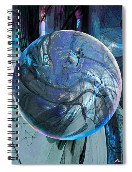 Portal To Divinity Spiral Notebook