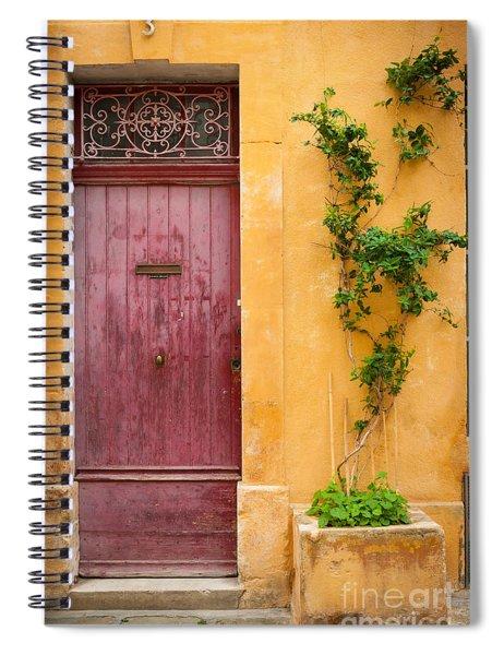 Porte Rouge Spiral Notebook