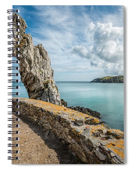 Porth Wen Arch Spiral Notebook