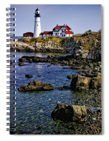 Portland Headlight 36 Spiral Notebook