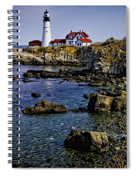 Portland Headlight 37 Oil Spiral Notebook