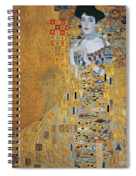 Portrait Of Adele Bloch-bauer I Spiral Notebook