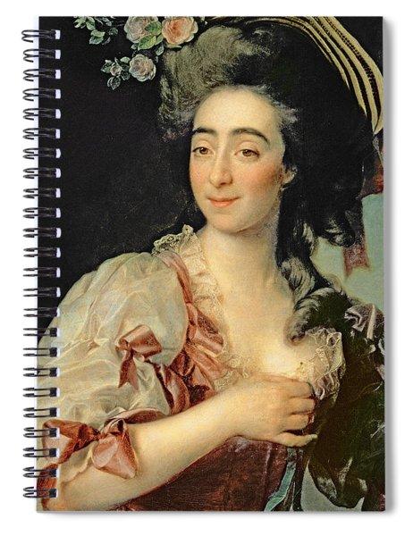 Portrait Of Anna Davia Bernucci Spiral Notebook