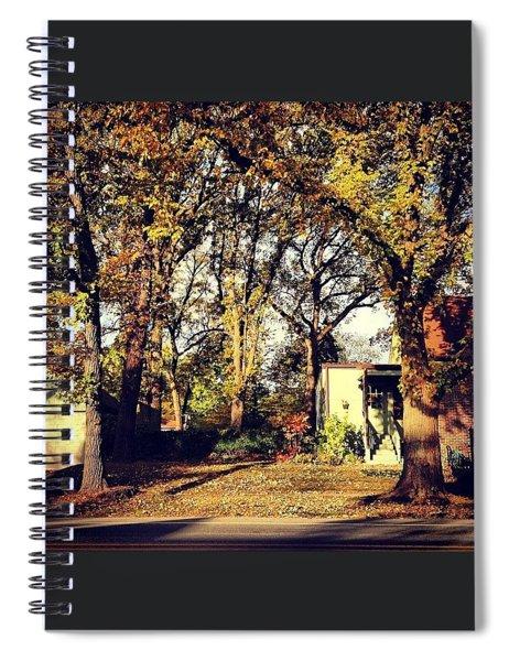 Portrait Of Autumn Spiral Notebook