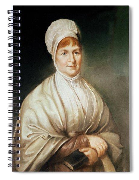 Portrait Of Elizabeth Fry 1780-1845 Spiral Notebook