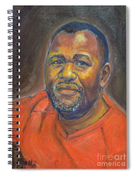 Portrait Of Felly Spiral Notebook