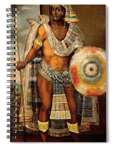Portrait Of Montezuma II Spiral Notebook