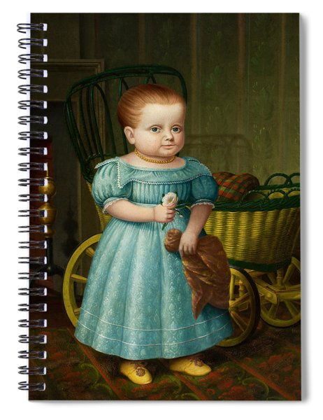 Portrait Of Sally Puffer Sanderson Spiral Notebook