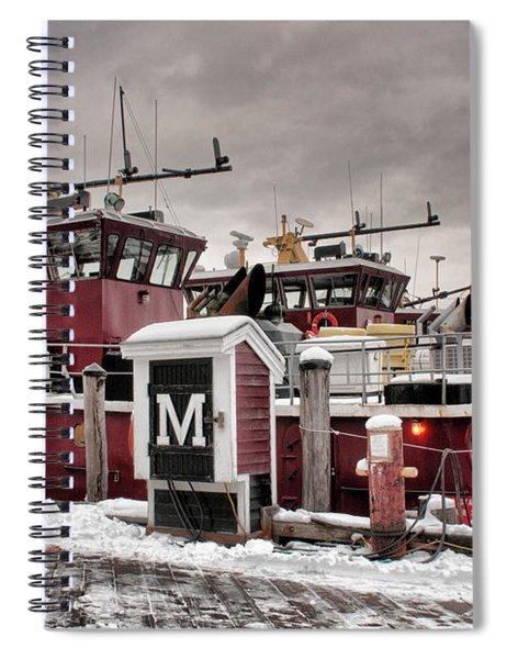 Portsmouth Tugboats Spiral Notebook