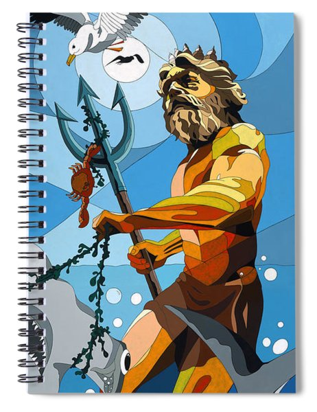 Poseidon - W/hidden Pictures Spiral Notebook
