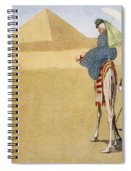 Posing At The Pyramids, From The Light Spiral Notebook