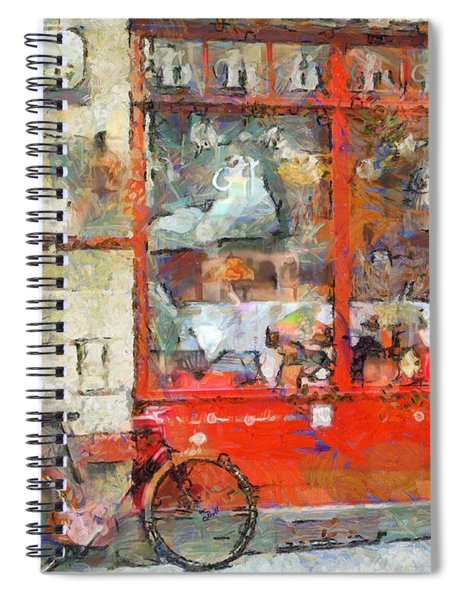 Postcard Perfect Spiral Notebook