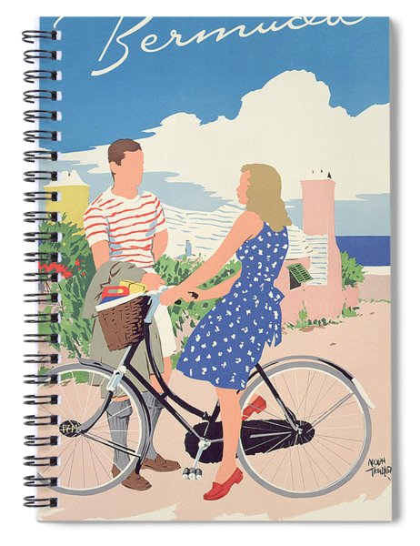 Poster Advertising Bermuda Spiral Notebook