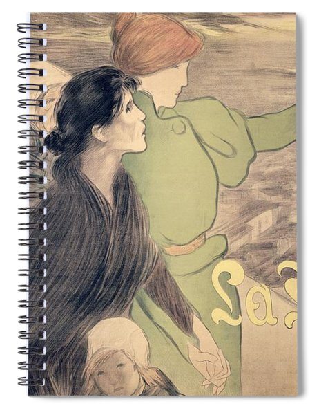 Poster For La Fronde Spiral Notebook