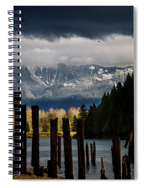 Potential - Landscape Photography Spiral Notebook