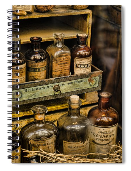 Potions And Cure Alls Spiral Notebook