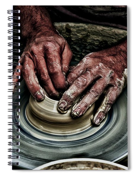 Potters Wheel  Spiral Notebook