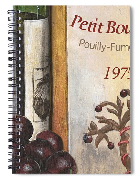 Pouilly Fume 1975 Spiral Notebook