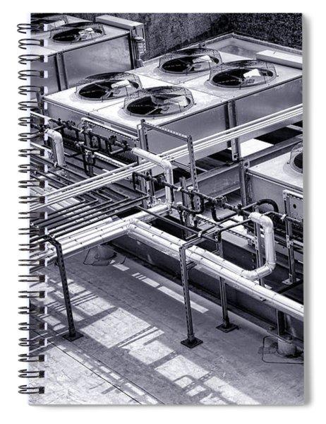 Power Cooling Spiral Notebook