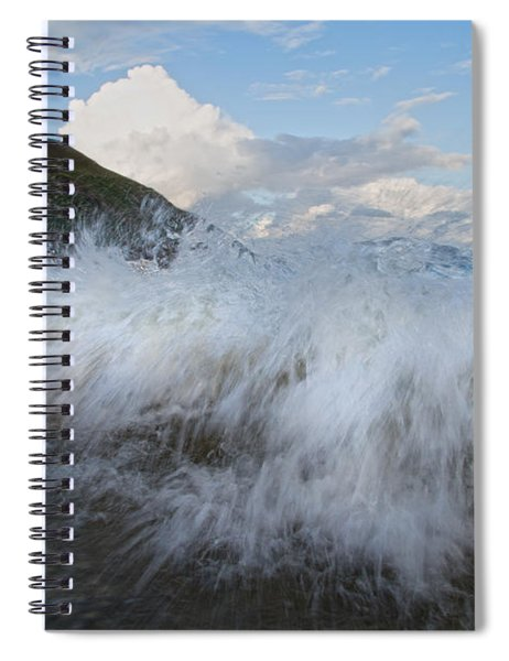 Power Of The Sea Keem Beach Ireland Spiral Notebook