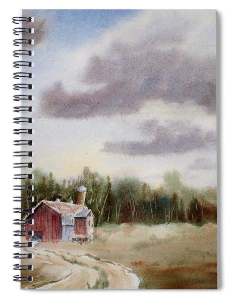 Prairie Barn 2 Spiral Notebook