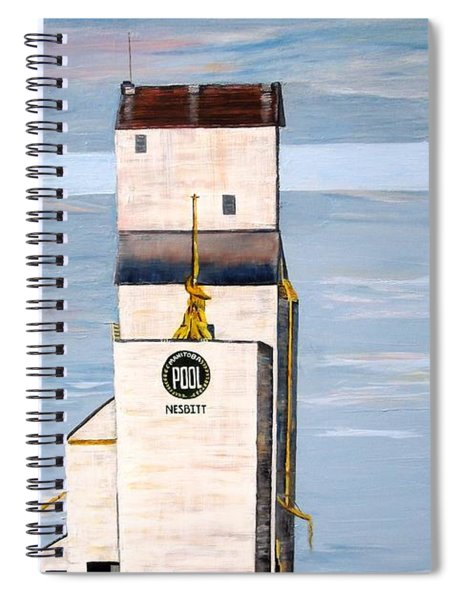 Prairie Icon - Manitoba Pool Elevator Spiral Notebook