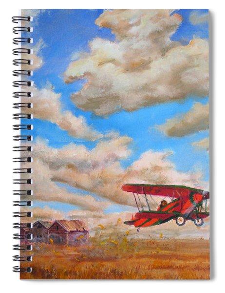Prairie Runway Spiral Notebook