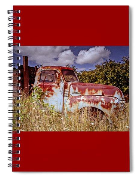 Preberry Takeover Spiral Notebook