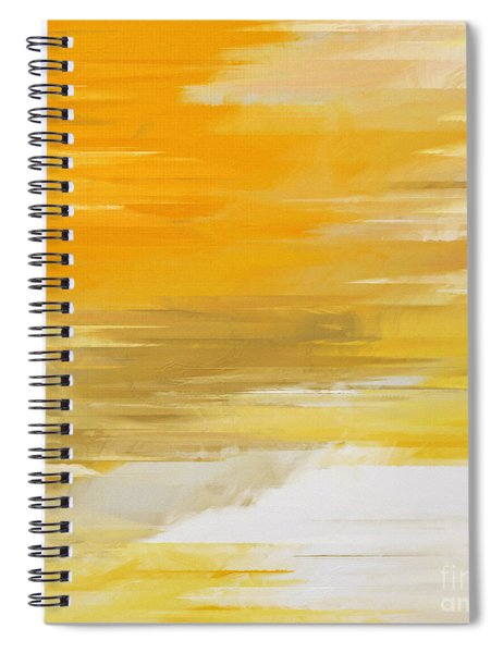 Precious Metals Abstract Spiral Notebook