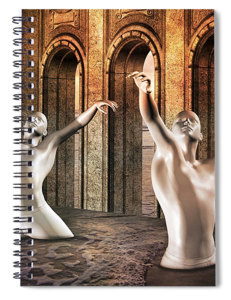 Precisely Aware Spiral Notebook