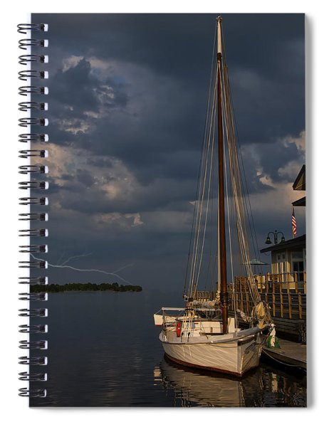 Preparing For The Storm Spiral Notebook