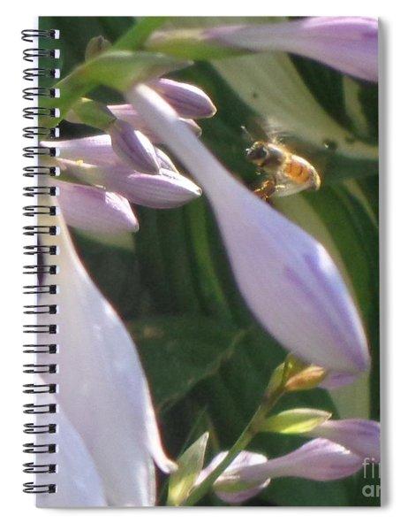 Preparing To Land Spiral Notebook