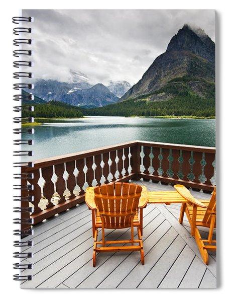 Priceless Glacier View Spiral Notebook