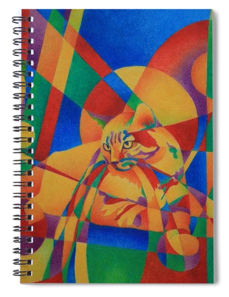 Primary Cat IIi Spiral Notebook