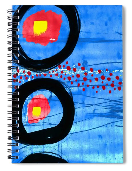 Primary Movement - Square Spiral Notebook