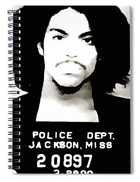 Prince Mug Shot Spiral Notebook