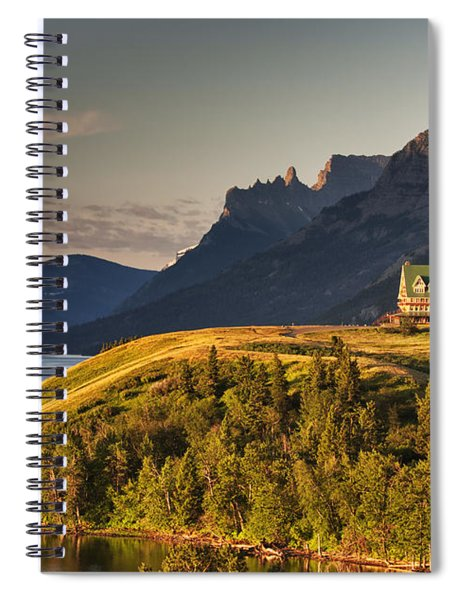 Prince Of Wales Sunrise Spiral Notebook