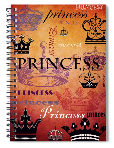 Princess 2 Spiral Notebook