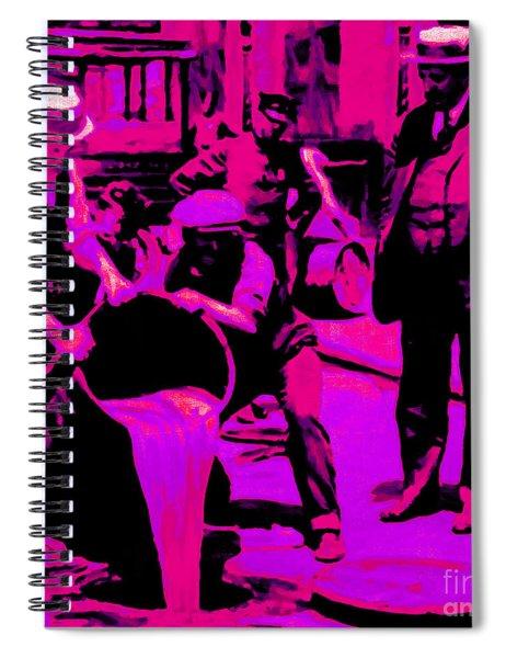 Prohibition 20130218m68 Spiral Notebook