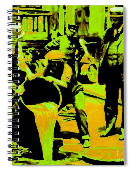 Prohibition 20130218p45 Spiral Notebook