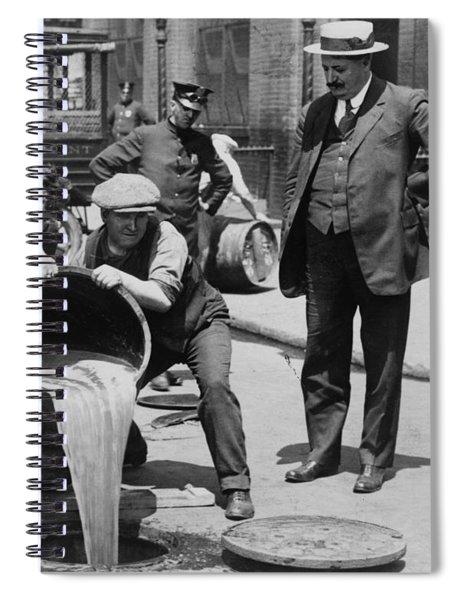 Prohibition In The Usa Spiral Notebook